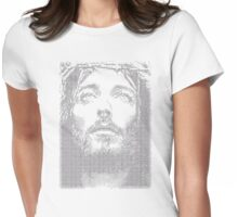 Digital Jesus Womens Fitted T-Shirt
