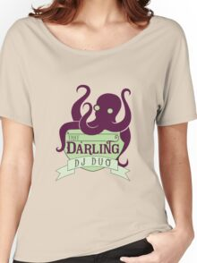 That Darling DJ Duo Women's Relaxed Fit T-Shirt