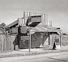 Roadside Store, 1935 by historyphoto