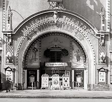 The Majestic Theatre, 1910 by historyphoto