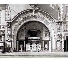 The Majestic Theatre, 1910 Photographic Print