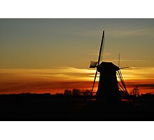 "Saying ""Good night"" the Dutch way Photographic Print"