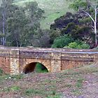 Sandstone bridge over Djerriwarra Creek by mspfoto