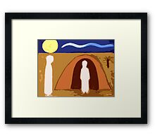 THE RAISING OF LAZARUS 2 Framed Print