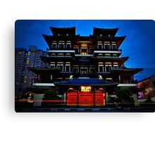 Buddha Tooth Relic Temple Canvas Print