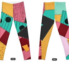 Sally Stitches Leggings by Cat Vickers-Claesens