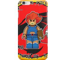 Thunder.. Thunder.. Thunder.. ThunderCats..! iPhone Case/Skin