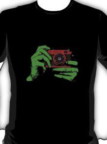 FED2 Camera & Hands T-Shirt