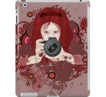 Girl photographer 2 iPad Case/Skin