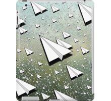Paper Airplane 111 iPad Case/Skin
