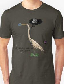 Damn Tourist ! with Tybee Island, Georgia logo T-Shirt