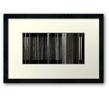 Interstellar (6000 bars) Framed Print