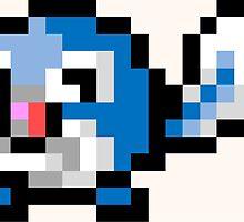 Pokemon 8-Bit Pixel Poliwag 060 by slr06002