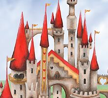 Hearts and Turrets by ImogenSmid