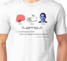 Rock, Paper...Obama Unisex T-Shirt