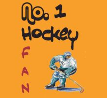 No. 1 hockey fan by Kevin Meldrum