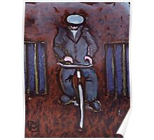 Grandad Cycling Poster