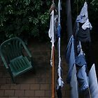 watching clothes dry by izzif