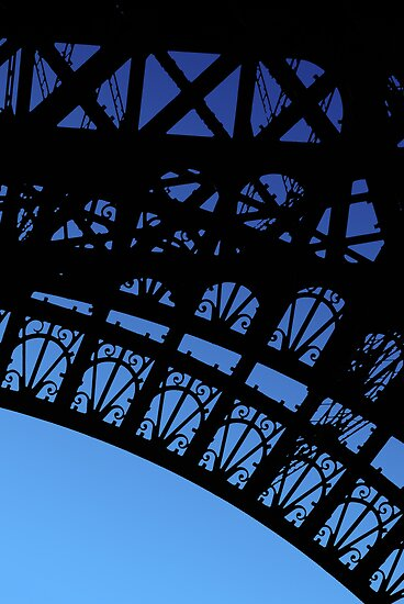Eiffel Detail by Christopher Dunn