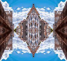 Sky street by Yevgeni Kacnelson