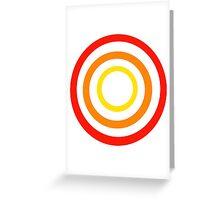 Colored circles Greeting Card