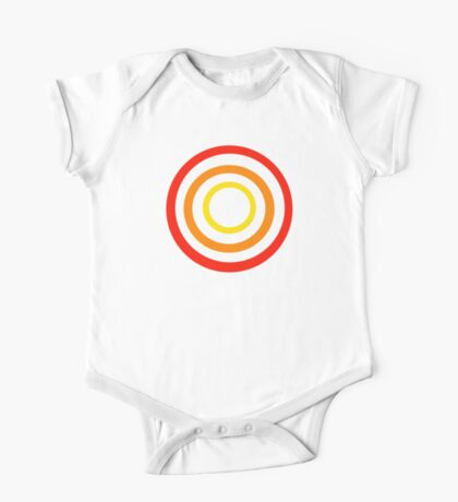 Colored circles One Piece - Short Sleeve