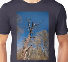 Old dead trunk decayed tree Unisex T-Shirt