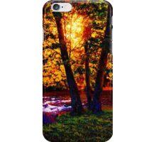 Hiding River Lantern iPhone Case/Skin