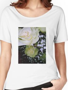 Bouquet of White roses 2 Women's Relaxed Fit T-Shirt