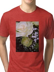 Bouquet of White roses 2 Tri-blend T-Shirt