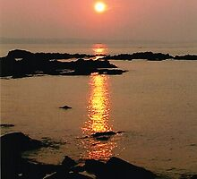 Sunset in Skerries by Martina Fagan