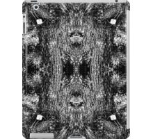 Forest Disaster BW iPad Case/Skin