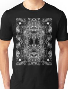 Forest Disaster BW Unisex T-Shirt