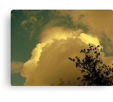 Cloud With a Silver Lining Canvas Print
