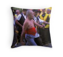 To the Temple Throw Pillow