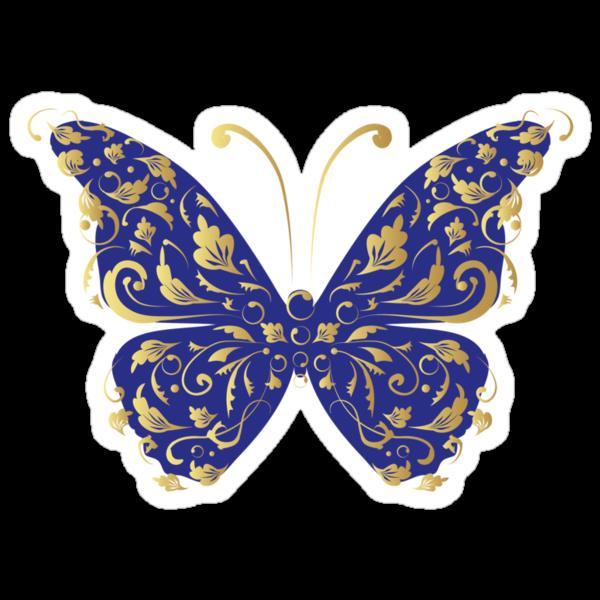 Butterfly, ornate by Kudryashka