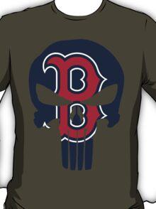 Boston Redsox Skull T-Shirt