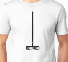 Black rake Unisex T-Shirt