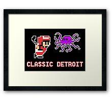 Classic Detroit Framed Print