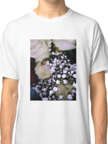Bouquet of White roses 3 Classic T-Shirt