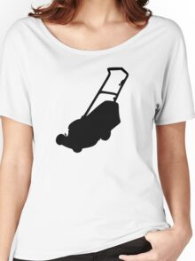 Lawn mower Women's Relaxed Fit T-Shirt
