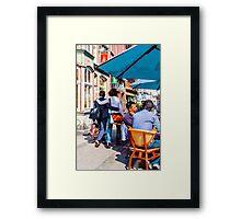 Tripping Love Framed Print