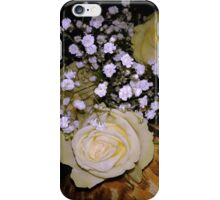 Bouquet of White roses 5 iPhone Case/Skin