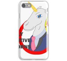 Really Inventive Unicorns iPhone Case/Skin