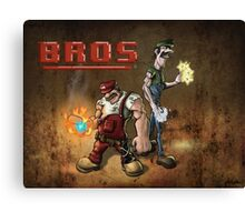 Bros Canvas Print
