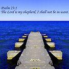 Psalm 23:1 by Dmarie Becker