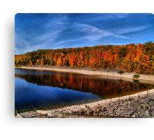 Autumn in Canada Canvas Print