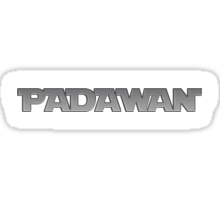 Padawan Sticker