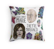 Jesus Christ Marie! Throw Pillow