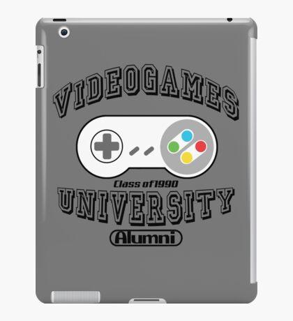 Videogames university iPad Case/Skin